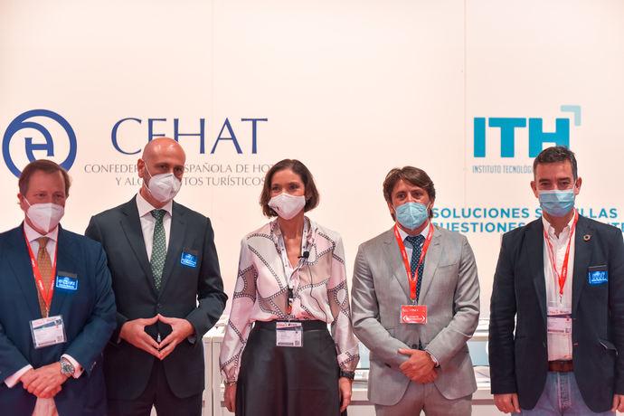 Maroto y Valdés inauguran Fiturtechy 2021 junto a CEHAT e ITH