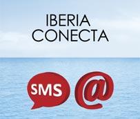 Iberia pone en marcha una nueva aplicación para informar a sus clientes de cualquier incidencia relacionada con su vuelo