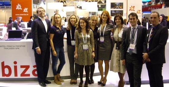 El Ibiza Convention Bureau y varios empresarios de la isla potencian su oferta MICE en Barcelona