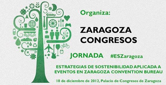 Zaragoza Congresos organiza una jornada para debatir sobre 'Estrategias de Sostenibilidad aplicada a eventos'