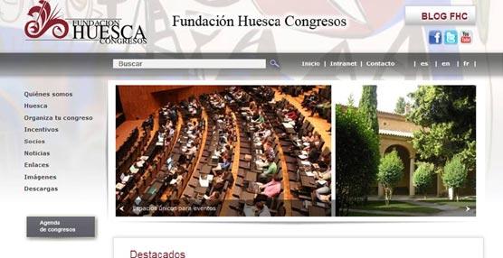 La Fundación Huesca Congresos presenta su nueva 'web' para facilitar la información a los organizadores de eventos
