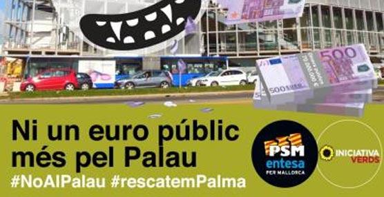 Palma de Mallorca debatirá una proposición para 'detener' el gasto mensual de las obras 'paradas' del Palacio de Congresos
