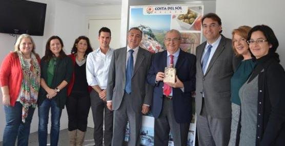 La Costa del Sol reconoce al director de Iberoservices Incentives su larga trayectoria en el turismo malagueño