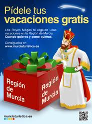 Turismo de Murcia regala vacaciones con gastos pagados como parte de una campaña de publicidad