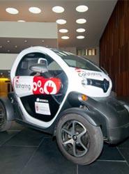 El Palacio de Congresos Baluarte apoya la utilización de los coches eléctricos para los delegados