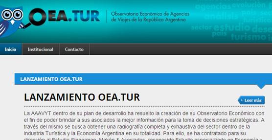 Las agencias argentinas disponen de un Observatorio Económico que analizará el comportamiento del Turismo