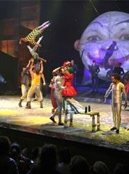 El Euskalduna ofrece el próximo domingo un espectáculo circense con artistas de los mejores circos del mundo