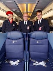 La nueva clase Business de airberlin ofrece nuevos asientos 'full-flat' con el máximo confort