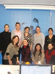 Alumnos del Centro de Estudios Benidorm visitan las oficinas de Hosbec para conocer su labor en defensa del Sector