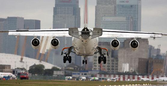 London City Airport incrementa el número de vuelos a España para aprovechar su 'potencial de crecimiento'
