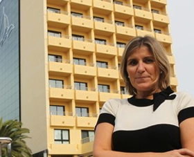 Los hoteleros malllorquines celebraron ayer el sepelio por Marilén Pol, presidenta de la FEHM fallecida el pasado lunes