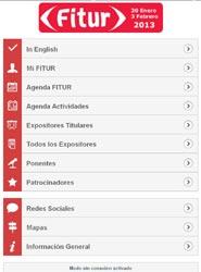 Orquidea Technology Group, con su producto EventMobi, diseña la aplicación móvil oficial de Fitur 2013