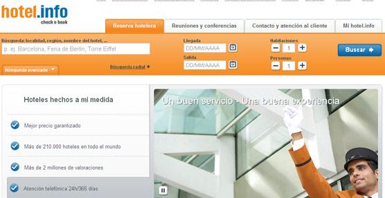 Las reservas de las agencias a través de Hotel.info crecen un 30%, concentrando ya el 20% de su volumen total
