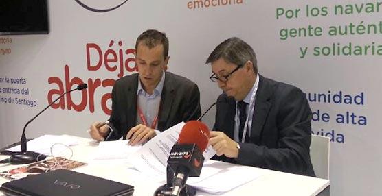 Baluarte firma un acuerdo con Renfe destinado al fomento de la actividad congresual en Pamplona