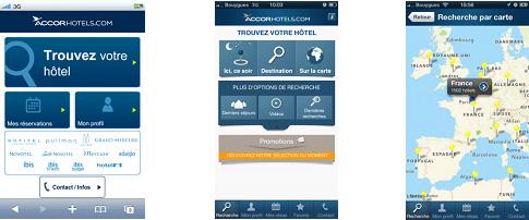 Accor refuerza su estrategia de reserva  a través de dispositivos móviles con nuevas soluciones innovadoras