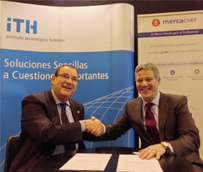El ITH y Mercachef firman un acuerdo de colaboración en los campos formativos, científicos y técnicos
