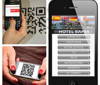 Translationhouse.es presenta un código QR Hotelero que ofrece una carta completa de servicios del hotel