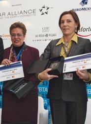 Ana Larrañaga y Paloma Ramírez son las galardonadas en la primera edición de los Premios IBTA