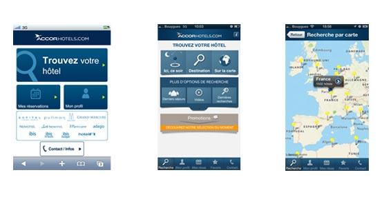 Accor refuerza su estrategia de reserva a través de los dispositivos móviles con nuevas soluciones