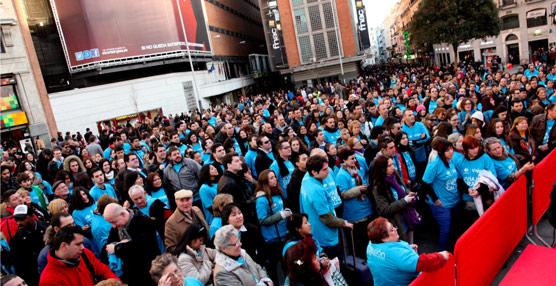 Viajes Carrefour congrega a más de 2.500 personas en el centro de Madrid gracias a un sorteo de viajes