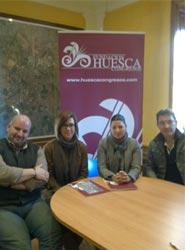 Veintiocho Estudio Creativo y Alameda Catering se incorporan como nuevos socios a Huesca Congresos