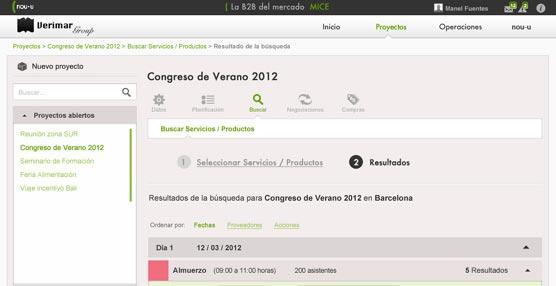 La sociedad NOU-U desarrolla una herramienta 'online' para la comercialización y gestión de grupos para el Sector MICE