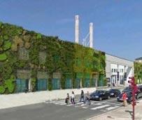 La fachada vegetal del Palacio de Congresos y Exposiciones Europa de Vitoria comenzará a colocarse en el mes de marzo