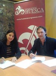 El cantador de jota Roberto Ciria se ha integrado como nuevo socio de la Fundación Huesca Congresos