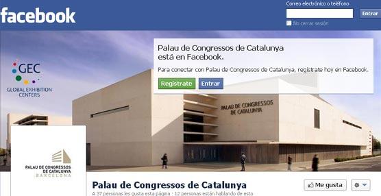 El Palacio de Congresos de Cataluña potencia su presencia en las redes sociales con información dinámica y actualizada