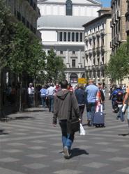 Los españoles realizan cerca de 10 millones de viajes en enero, lo que supone un descenso del 10% respecto a 2012