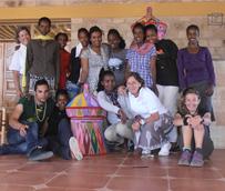 Empleados de NH Hoteles colaboran con la construcción y puesta en marcha de un hotel-escuela en Etiopía