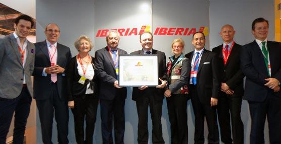 AEGVE es galardonada por Iberia gracias a su labor de formación y mejora de gestión en los viajes de negocios