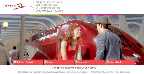 La compañía ferroviaria Thalys elige Amadeus para ampliar su distribución a través del canal de agencias