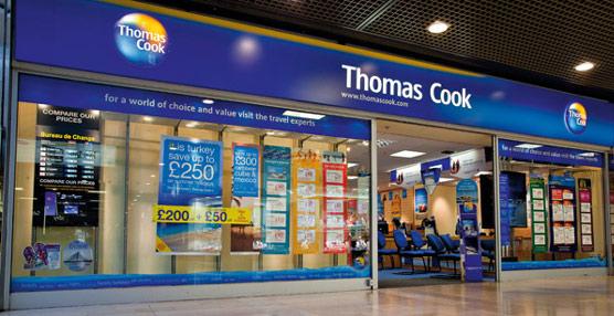 Thomas Cook despedirá a 2.500 trabajadores, el 16% de su plantilla en Reino Unido, y cerrará puntos de venta