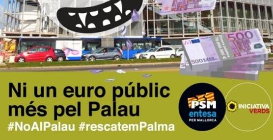 La coalición 'MÉS per Palma' exige al Ayuntamiento de la capital balear un estudio de viabilidad del Palacio de Congresos