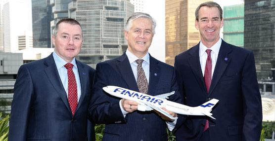 Finnair será el próximo socio de Iberia, British Airways y American Airlines en el Atlántico Norte