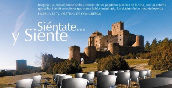La Fundación Huesca Congresos presenta una campaña de promoción de la ciudad, tanto a nivel local como nacional