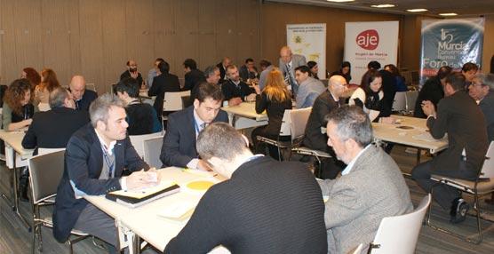 La Oficina de Congresos de Murcia y AJE participan en un foro de negocios en busca de nuevas oportunidades