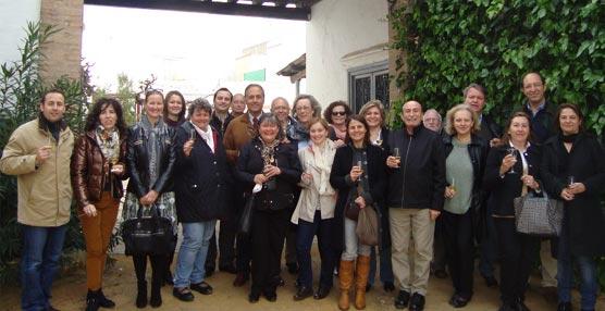 La Asociación Española de Destination Managenment Companies visita la oferta congresual de Sevilla, Santiponce y Umbrete