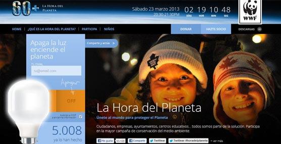 Rafaelhoteles se suma el 23 de marzo a la Hora del Planeta 2013, iniciativa de la asociación ecologista WWF