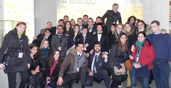 Alumnos de Vatel España visitan las instalaciones del Grupo Mahou-San Miguel en Alovera (Guadalajara)