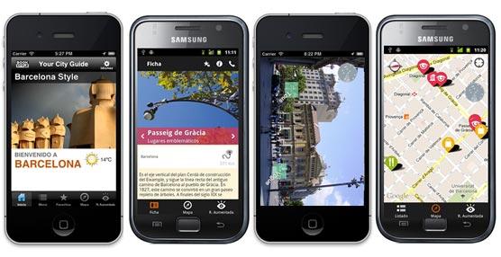 Book Style crea una aplicación para iPhone y Android con una nueva guía de viajes de Madrid y Barcelona
