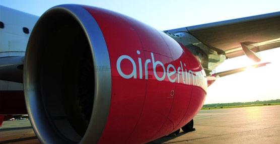 El beneficio neto de airberlin roza los siete millones de euros en 2012, frente a los 420 millones de pérdidas de 2011