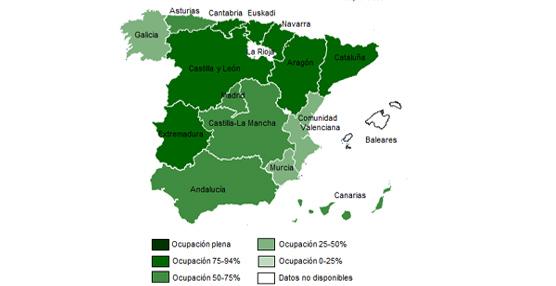 La demanda del turismo rural se mantiene esta Semana Santa y roza el 70% según datos de Toprural