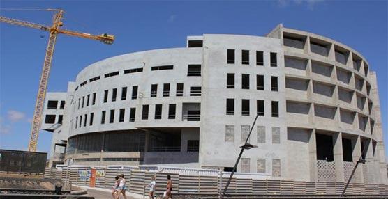 La construcción del Edificio de Formación y Congresos de Fuerteventura llega a su tercera y última fase con los interiores y accesos