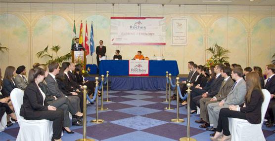 Les Roches Marbella celebra la ceremonia de clausura de la XXVII promoción del Postgrado en Dirección de Hotel