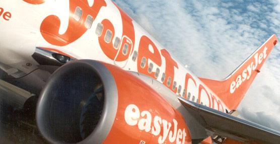 EasyJet perderá entre 70 y 76 millones de euros para su primer semestre fiscal, la mitad que el año anterior