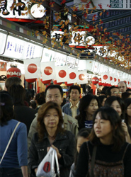 España recibió en 2012 unos 360.000 turistas procedentes de Japón, cerca de un 6% más que en el ejercicio anterior