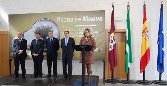 Se inaugura el Centro de Congresos de Baena que cuenta con una superficie de más de 2.000 metros cuadrados contruidos