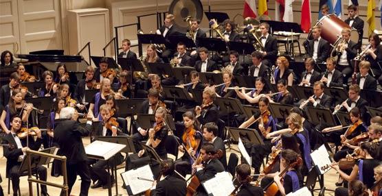 NH Hoteles, patrocinador de la Orquesta Oficial de Jóvenes de la UE y encargado de su alojamiento en 2013